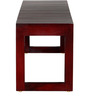 Woodinville Bench in Passion Mahogany Finish by Woodsworth