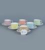Sanjeev Kapoor's  Prima Cups & Saucers - Set of 6