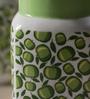 Sanjeev Kapoor Green Apple Bone China 550 ML Mason Mug - Set of 4