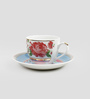 Sanjeev Kapoor Mayura Collection Bone China 140 ML Cup & Saucer - Set of 6