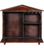 Brigham Bar Cabinet in Provincial Teak Finish by Woodsworth