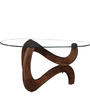 Tacoma Coffee Table in Provincial Teak Finish by Woodsworth