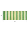 Saral Home Green Cotton 72 x 28 Inch Premium Quality Rug
