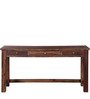 Glendale Solid Wood Study & Laptop Table in Provincial Teak Finish by Woodsworth