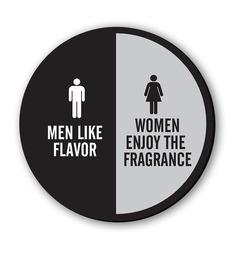 Seven Rays Black & White Fibre Board Men Vs Women Fridge Magnet