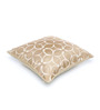 Seasons Lifestyle Yellow Polyester 16 x 16 Inch Cushion Cover