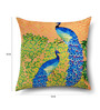 Sej by Nisha Gupta Brown Cotton 16 x 16 Inch Abstract Cushion Covers - Set of 2