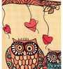 SEJ by Nisha Gupta Multicolor Silk 16 x 16 Inch Cushion Cover