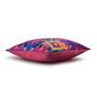 Sej by Nisha Gupta Multicolour Cotton 16 x 16 Inch Abstract Cushion Covers - Set of 3