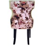 Serra Accent Chair in Printed Beige Colour by CasaCraft