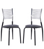 Dining Chair in Black Colour Furniture by Penache Furnishing