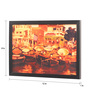 Seven Rays Glass, Fibre & Paper 8 x 1 x 12 Inch Colourful Banaras Framed Poster