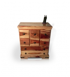 Rajputana Traditional Chest of 8 Drawers