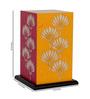 Shady Ideas Multicolour Acrylic & Handmade Paper Table Lamp