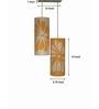 Shady Ideas oppositr attraction orange Steel Pendant