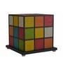 Shady Ideas Qubix Multicolour Blend Table Lamp