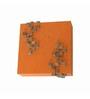 Shady Ideas Red Dusky Stone Mosaic Wall Sconce