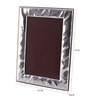 Shaze Resin with Silver Plating Martele Single Photo Frame