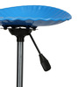 Shell Bar Stool In Blue Color By The Furniture Store