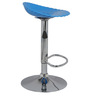 Shello Bar Stool In Blue Color By The Furniture Store