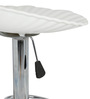 Shello Bar Stool In White Color By The Furniture Store