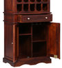 Shervington Bar Unit in Honey Oak Finish by Amberville
