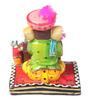 Shinexus Multicolour Resin Munim Ganesha Showpiece
