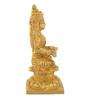 ShopEndHere Gold Brass Goddess Annapurna Idol
