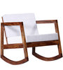 Shoreline Rocking Chair in Warm Walnut Finish by Woodsworth