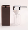 Shresmo Brown Polyresin Soap Dispenser