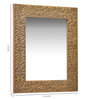 Jesus Decorative Mirror in Gold by CasaCraft