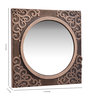 Adel Decorative Mirror in Gold by Amberville