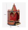 ShriNath Multicolour MDF Carving Handicraft Temple