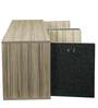 Sideboard Cabinet in Black & Brown Colour by Arancia Mobel