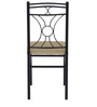 Sidney Dining Chair in Black Colour by @home