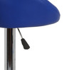Simo Bar Chair in Blue and Pink Color by The Furniture Store