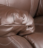 Single Seater Recliner with Rocker in Brown Colour by Star India
