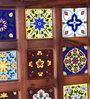 Siramika Bar Cabinet in Honey Oak Finish by Mudramark