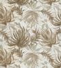 Skipper Beige Polyester & Cotton Nature & Floral Window Curtain - Set of 2
