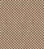 Skipper Brown Polyester Abstract Pattern Window Curtain - Set of 2