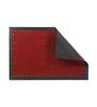 Skipper Dark Red PVC 24 x 16 Inch Door Mat
