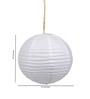 Skycandle Round White Paper Lantern