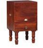 Tyrrel End Table in Honey Oak Finish by Amberville