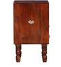 Tyrrel End Table in Honey Oak Finish by Amberville