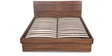 Snooze Queen Bed with Hydraulic Storage in Walnut Finish by Godrej Interio