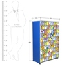 Snakes and Ladders Kids Wardrobe by BigSmile Furniture