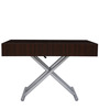 Snazzy Expandable Coffee Table in Brown Colour by Gravity