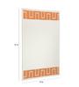 Callao Mirror in Orange by CasaCraft