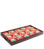 Snuggly Cats Breakfast/ Coffee Table in Multicolor by Chumbak