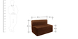 (Pillow Free) Sofa cum Bed (Single Bed) in Brown Colour by Springtek